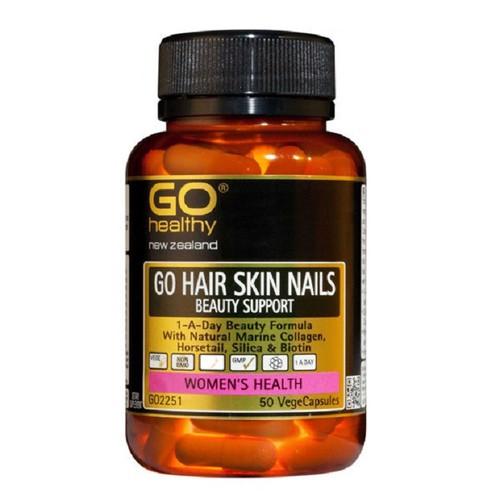 Go Hair Skin Nails Beauty Support- Đẹp da móng tóc