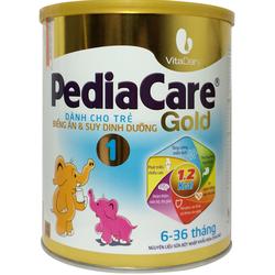 Sữa PediaCare Gold 1 900g Dành cho trẻ biếng ăn suy dinh dưỡng