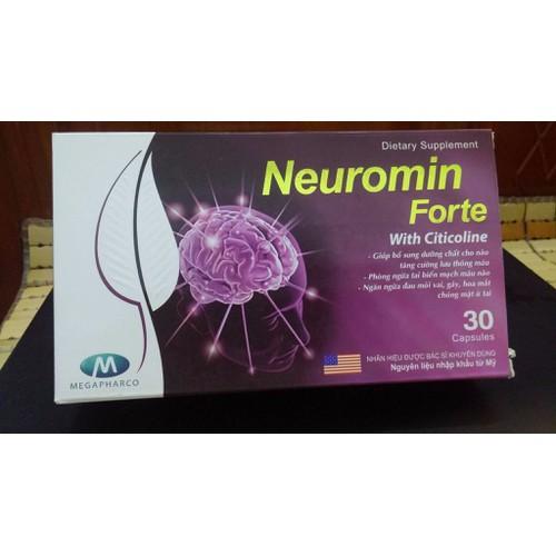 Hoạt huyết dưỡng não Neuromin Forte - Hộp 30 viên - 5152798 , 8475097 , 15_8475097 , 170000 , Hoat-huyet-duong-nao-Neuromin-Forte-Hop-30-vien-15_8475097 , sendo.vn , Hoạt huyết dưỡng não Neuromin Forte - Hộp 30 viên