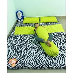 Xả kho cuối năm trọn bộ ga giường thun Hàn Quốc giá rẻ-thunphoixanh