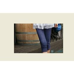 quần legging lửng chất cotton giả bò