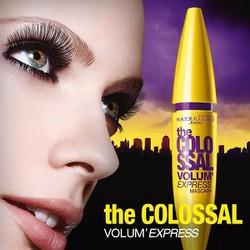 Mascara Colossal Volum Express 7x  - Hàng chính hãng Maybelline