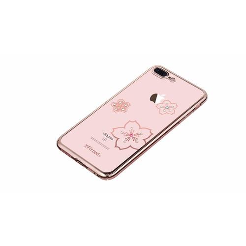 Ốp lưng đính đá cho iPhone 7 plus, 8 plus hiệu X-Fitted