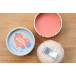 Phấn Má Hồng Lovely Meex Pastel Cushion màu cam san hô siêu xinh