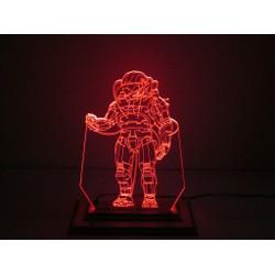 Đèn Led 3D Mô Hình Phi Hành Gia Vũ Trụ