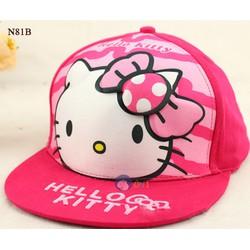 N81B - Nón Hình Mèo Kitty Dễ Thương Cho Bé Gái