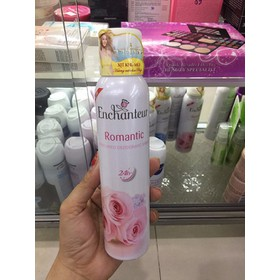 Xịt khử mùi Enchanteur Romantic chai 150ml - v331-0