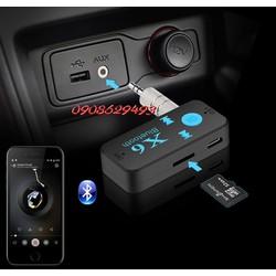 Bộ Bluetooth X6 kết nối âm thanh cho xe ôtô và các thiết bị âm thanh.