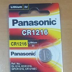 Pin CR1216 Panasonic lithium 3V chính hãng Vỉ 1 viên