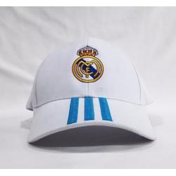 Mũ nón thể thao CLB Real Madrid trắng