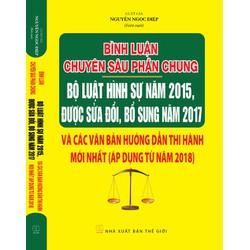 Bình luận chuyên sâu bộ luật hình sự năm 2015 sửa đổi bổ sung 2017