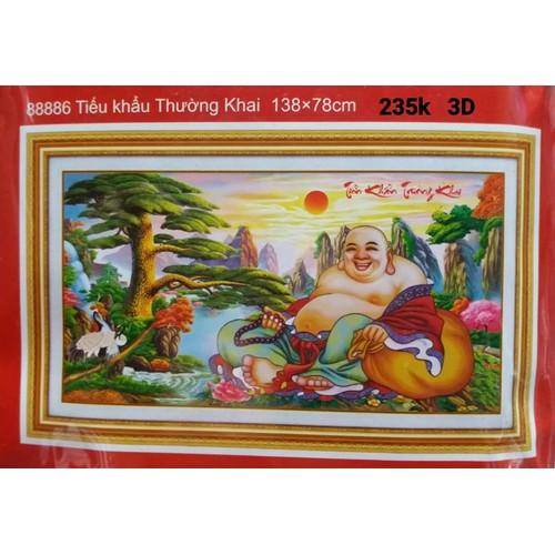 Tranh thêu chữ thập Phật di lặc - 5168887 , 8503287 , 15_8503287 , 235000 , Tranh-theu-chu-thap-Phat-di-lac-15_8503287 , sendo.vn , Tranh thêu chữ thập Phật di lặc