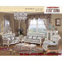 Nhận đóng sofa tân cổ điển đẹp, giá rẻ tại tphcm