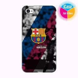 Ốp lưng iPhone 4s in Logo CLB Barcelona Mẫu 3