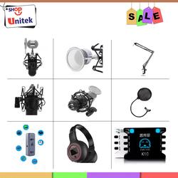 Bộ thu âm karaoke live stream chất lượng cao giá tốt Soundcard XOX K10