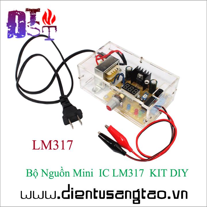 Bộ Nguồn Mini  IC LM317  KIT DIY Tự ráp 5