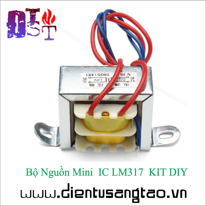 Bộ Nguồn Mini  IC LM317  KIT DIY Tự ráp 9