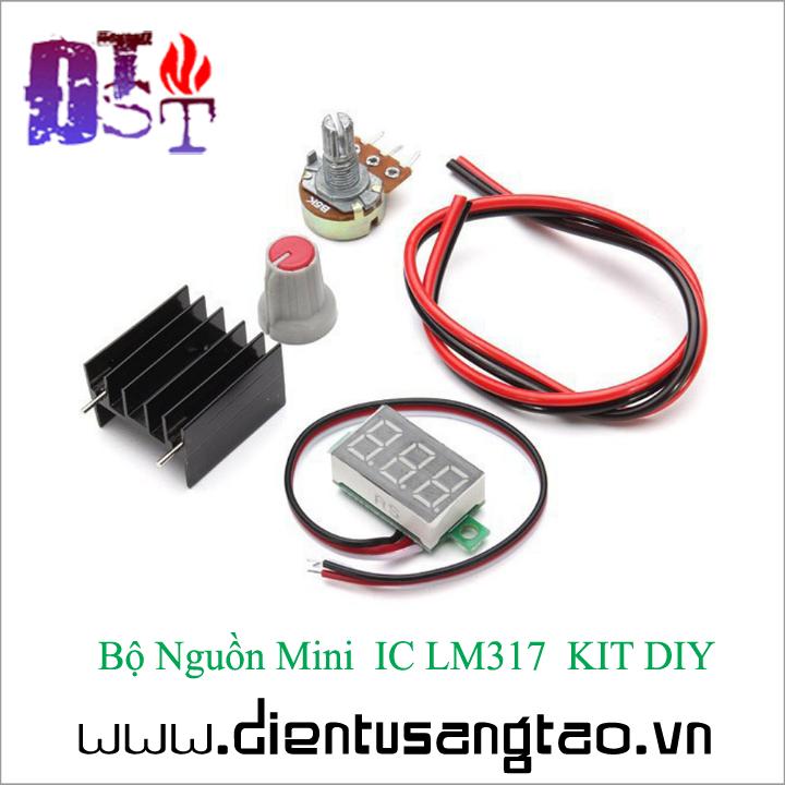 Bộ Nguồn Mini  IC LM317  KIT DIY Tự ráp 3