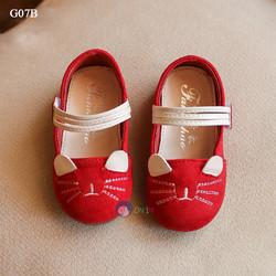 G07B - Giày Búp Bê Hình Mèo Ngộ Nghĩnh