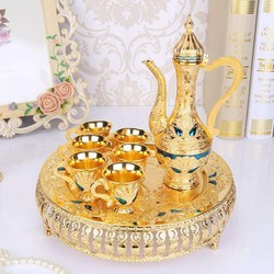 Bình trà hoàng gia mã 04