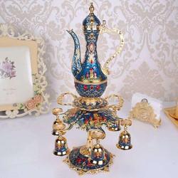 Bình trà hoàng gia mã 03