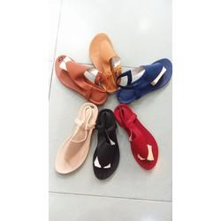 Sandal tam giác nhiều màu