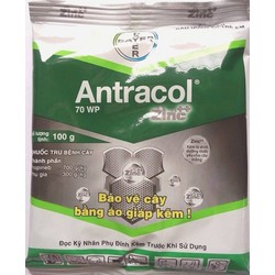 Thuốc phòng trị nấm bệnh cho phong lan, cây cảnh Antracol