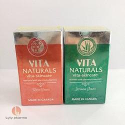 Vita Naturals Vita-Skincare - Viên bôi da nhau thai cừu