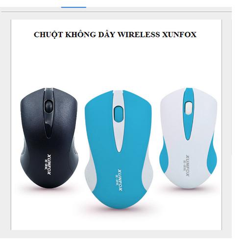 Chuột Không Dây Bluetooth Wireless XUNFOX - 4976509 , 8511316 , 15_8511316 , 150000 , Chuot-Khong-Day-Bluetooth-Wireless-XUNFOX-15_8511316 , sendo.vn , Chuột Không Dây Bluetooth Wireless XUNFOX