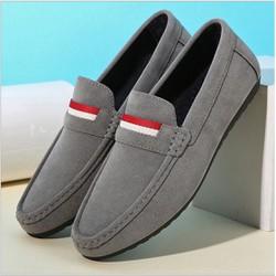 Giày lười da lộn G368N
