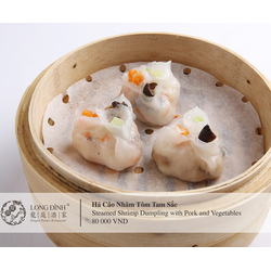 Voucher trị giá 300000đ thưởng thức hơn 100 loại Dimsum cao cấp tại Nhà hàng Long Đình