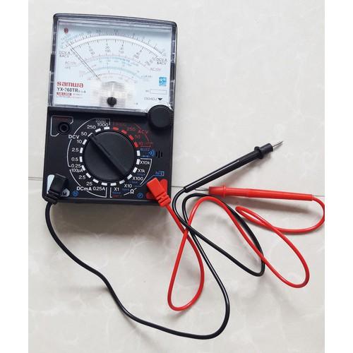 Đồng hồ đo kim vạn năng Samwa YX-360TR VOM kèm pin chuyên sửa điện tử