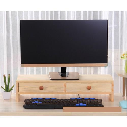 Kệ gỗ để màn hình máy tính, có 2 ngăn tủ màu gỗ - 4347489 , 10553780 , 15_10553780 , 456000 , Ke-go-de-man-hinh-may-tinh-co-2-ngan-tu-mau-go-15_10553780 , sendo.vn , Kệ gỗ để màn hình máy tính, có 2 ngăn tủ màu gỗ