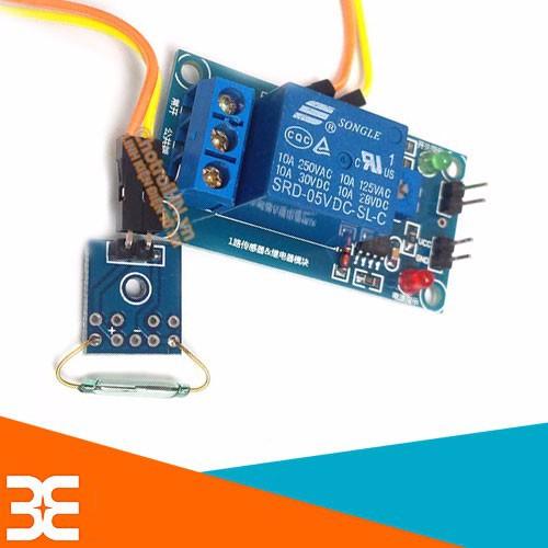 Module Điều Khiển Relay 5VDC - Bằng Công Tắc Từ 1 Kênh