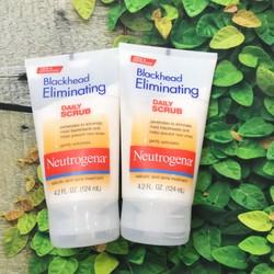 Sữa rửa mặt trị mụn đầu đen Neutrogena Blackhead Eliminating Daily