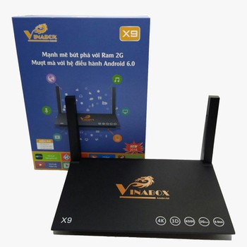 Android Vinabox X9 2018