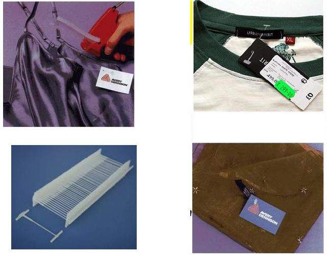 Dây nhựa treo nhãn mác [Ti xỏ, ti bắn, đạn xỏ, dây gắn mác tag]-5cm 7