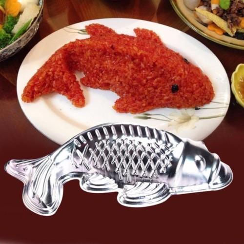 Khuôn làm xôi, bánh, rau câu hình cá chép