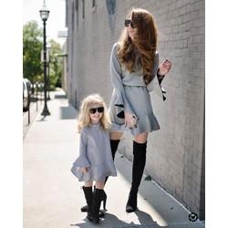 váy đôi mẹ và bé