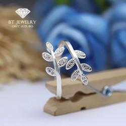Nhẫn Nữ Hình Lá Chất Liệu Cao Cấp BT Jewelry