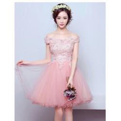 Đầm xoè trễ vai công chúa