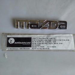 Logo chữ Mazda xe Mazda 3 2010 hatchback - BFF951710