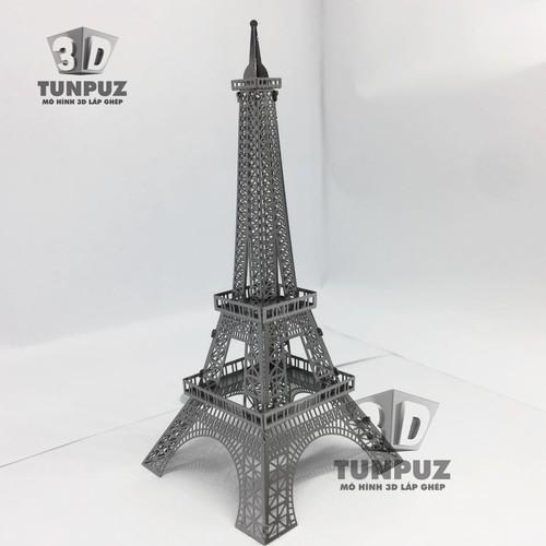 Tháp Eiffel - Mô hình 3D tự ghép