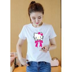 Áo thun nữ in hình Hello Kitty K612
