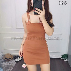Đầm ôm 2 dây cực xinh