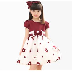 Đầm hoa dễ thương cho bé gái