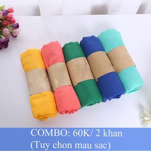 Combo 2 khăn choàng nữ thời trang, phong cách Hàn Quốc - 5175676 , 8515763 , 15_8515763 , 60000 , Combo-2-khan-choang-nu-thoi-trang-phong-cach-Han-Quoc-15_8515763 , sendo.vn , Combo 2 khăn choàng nữ thời trang, phong cách Hàn Quốc