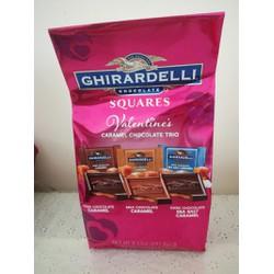 Chocolate đắng GHIRARDELLI Valentine 241g dành cho Nam