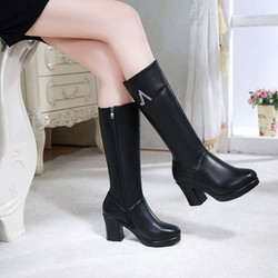 Giày boot cổ cao B106