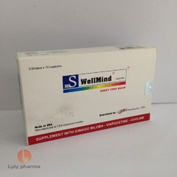 S-WellMind - Viên uống giúp tăng cường tuần hoàn não